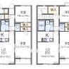 2LDK Apartment to Rent in Sakai-shi Mihara-ku Floorplan