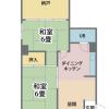2DK Apartment to Buy in Osaka-shi Naniwa-ku Floorplan