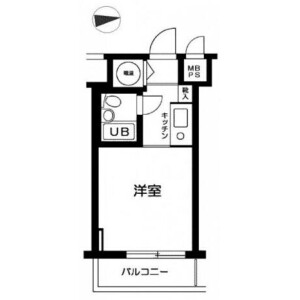 1R Mansion in Yotsuya - Shinjuku-ku Floorplan