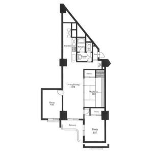 3LDK Mansion in Higashijujo - Kita-ku Floorplan