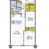 2LDK Apartment to Buy in Toyonaka-shi Floorplan