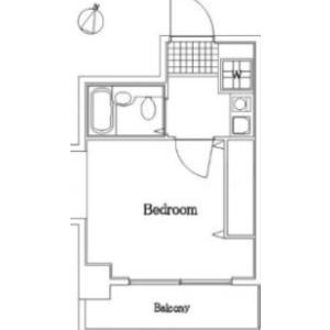 1K Mansion in Omorikita - Ota-ku Floorplan