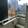 1K Apartment to Rent in Chiyoda-ku Balcony / Veranda