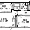 2LDK 맨션 to Rent in Minato-ku Interior