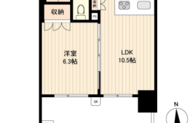1LDK Mansion in Misuji - Taito-ku