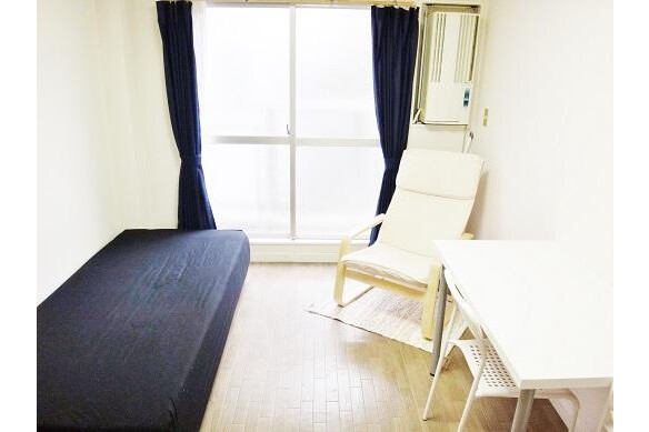 1K Apartment to Rent in Osaka-shi Higashisumiyoshi-ku Bedroom