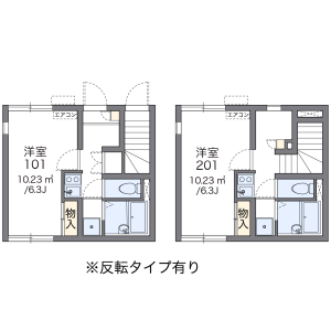 1K Apartment in Kitazawa - Setagaya-ku Floorplan