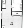 1R Apartment to Rent in Edogawa-ku Floorplan