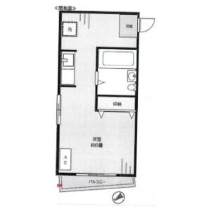 1R Mansion in Nakakasai - Edogawa-ku Floorplan