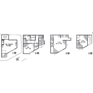 Whole Building Apartment in Minamiaoyama - Minato-ku Floorplan