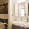 1R Serviced Apartment to Rent in Osaka-shi Fukushima-ku Washroom