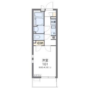 1K Mansion in Shirahata - Saitama-shi Minami-ku Floorplan
