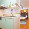1LDK Apartment to Rent in Osaka-shi Chuo-ku Kitchen