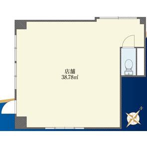 Shop {building type} in Ogikubo - Suginami-ku Floorplan