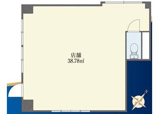 Shop Apartment to Buy in Suginami-ku Floorplan