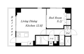 1LDK Apartment in Kandaawajicho - Chiyoda-ku