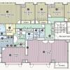 5LDK Apartment to Rent in Shinjuku-ku Floorplan