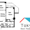 2DK Apartment to Rent in Nakano-ku Interior