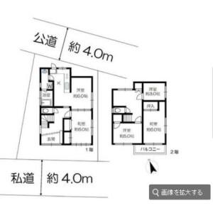 5K {building type} in Yutakacho - Shinagawa-ku Floorplan