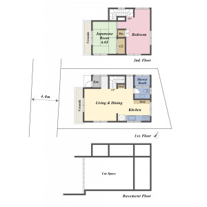 2LDK {building type} in Kitashinagawa(1-4-chome) - Shinagawa-ku Floorplan