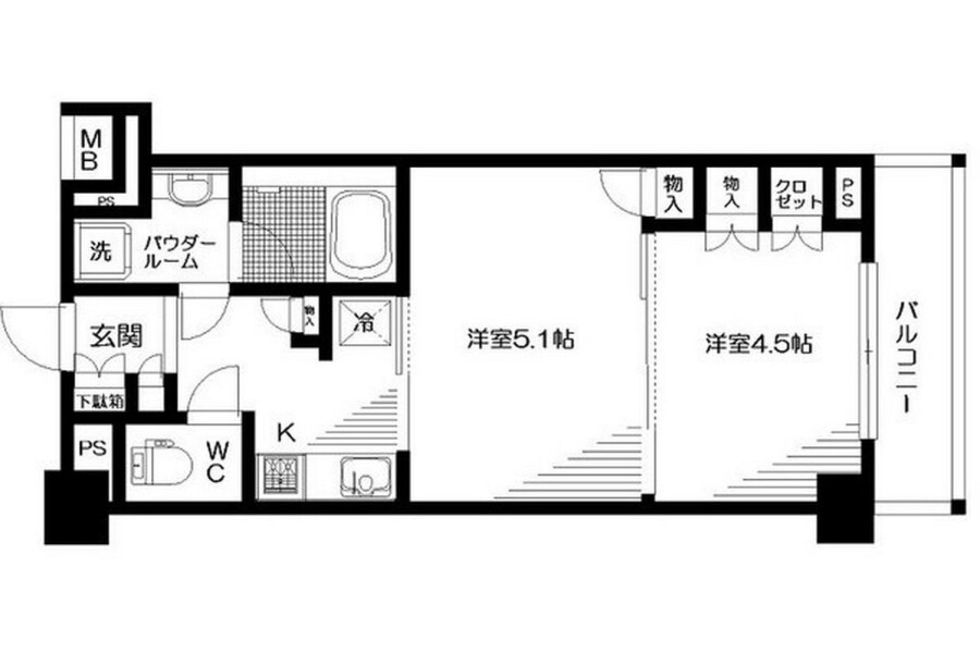 2K Apartment to Rent in Suginami-ku Exterior