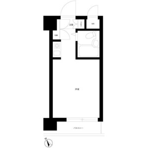 1R Mansion in Takadanobaba - Shinjuku-ku Floorplan
