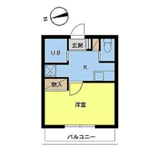 1K Mansion in Nishiwaseda(sonota) - Shinjuku-ku Floorplan