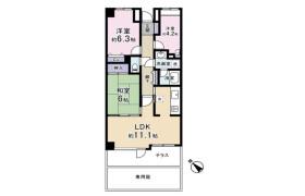 3LDK Apartment in Miyazaki - Chiba-shi Chuo-ku