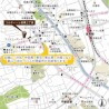 1LDK Apartment to Rent in Meguro-ku Map
