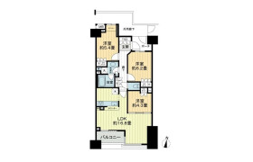 3LDK Mansion in Wakamatsucho - Shinjuku-ku
