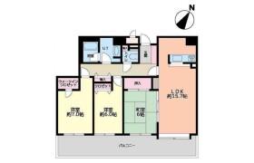 3LDK Apartment in Tsukisamu chuodori - Sapporo-shi Toyohira-ku