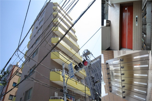 2DK Apartment to Rent in Sumida-ku Exterior