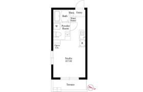 目黒區平町-1R公寓大廈