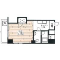 杉並区 - 高円寺南 简易式公寓 1K 楼层布局
