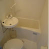 1K Apartment to Rent in Osaka-shi Tennoji-ku Bathroom