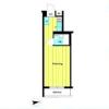 1R Apartment to Buy in Mitaka-shi Floorplan