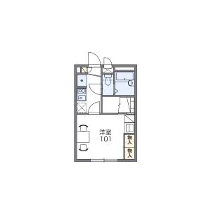 1K Apartment in Shirako - Wako-shi Floorplan