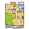 2LDK Apartment to Rent in Osaka-shi Miyakojima-ku Floorplan
