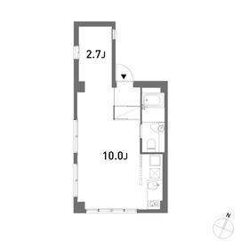 1R Apartment in Chuocho - Meguro-ku Floorplan