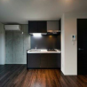 在港区内租赁1LDK 公寓大厦 的 厨房