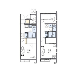 1K Apartment in Toshima - Kita-ku Floorplan