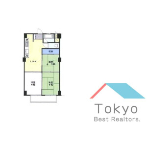 3LDK Mansion in Umezato - Suginami-ku Floorplan