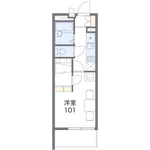 1K Mansion in Koyama - Nerima-ku Floorplan