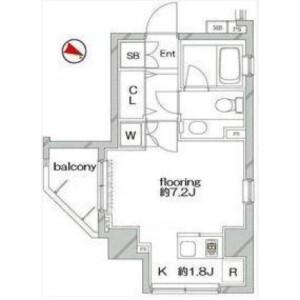 文京區向丘-1R公寓大廈 房間格局