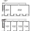 1K Apartment to Rent in Niiza-shi Layout Drawing