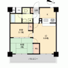 2LDK Apartment to Buy in Ome-shi Floorplan