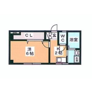 1K Mansion in Tabata - Kita-ku Floorplan