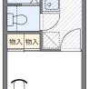 1K Apartment to Rent in Tomisato-shi Floorplan