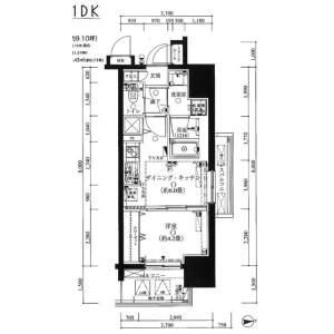 1DK Apartment in Nishinippori - Arakawa-ku Floorplan