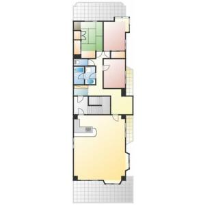 3LDK Mansion in Omorikita - Ota-ku Floorplan